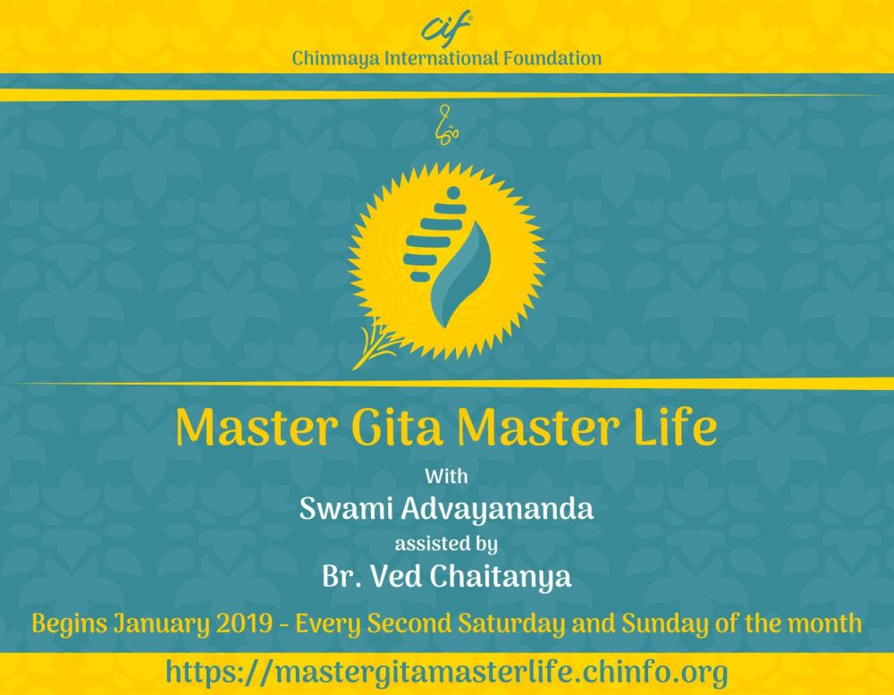 Master Gita Master Life banner