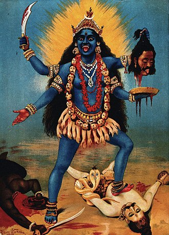 What Does Goddess Kali's Unusual And Scary Look Mean – Progressive Hindu  Dialogue